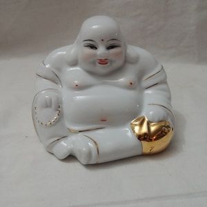 Antique Rare Chinese Fine Porcelain Buddha Statue